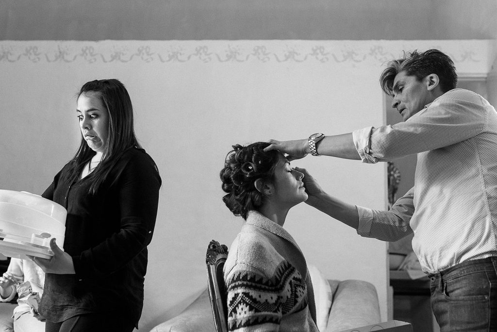Fotografo de bodas San Luis Potosi, hacienda vallumbroso getting ready