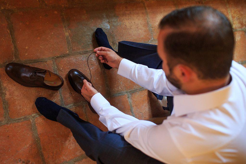 Fotografo de bodas San Luis Potosi, hacienda vallumbroso zapatos