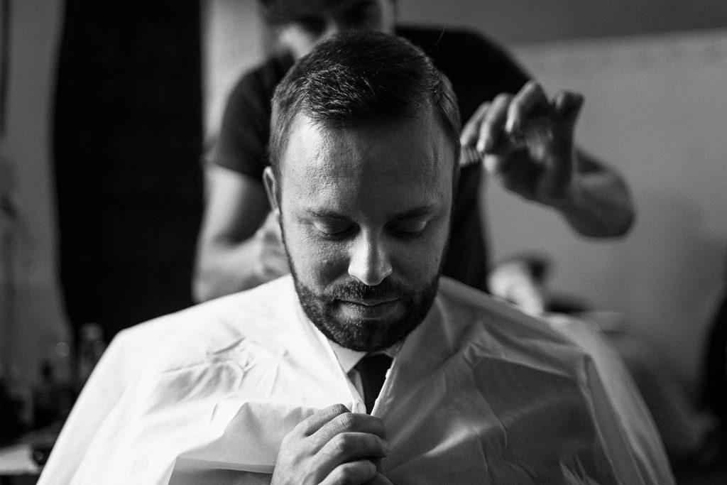 Fotografo de bodas San Luis Potosi, hacienda vallumbroso barberia