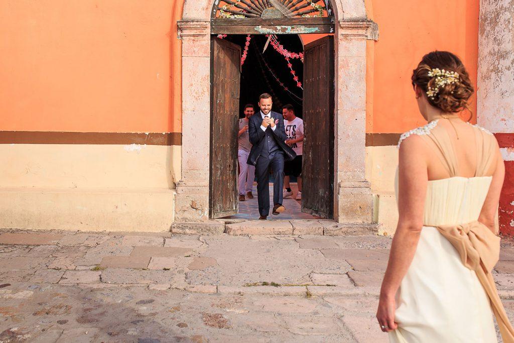 Fotografo de bodas San Luis Potosi, hacienda vallumbroso first look