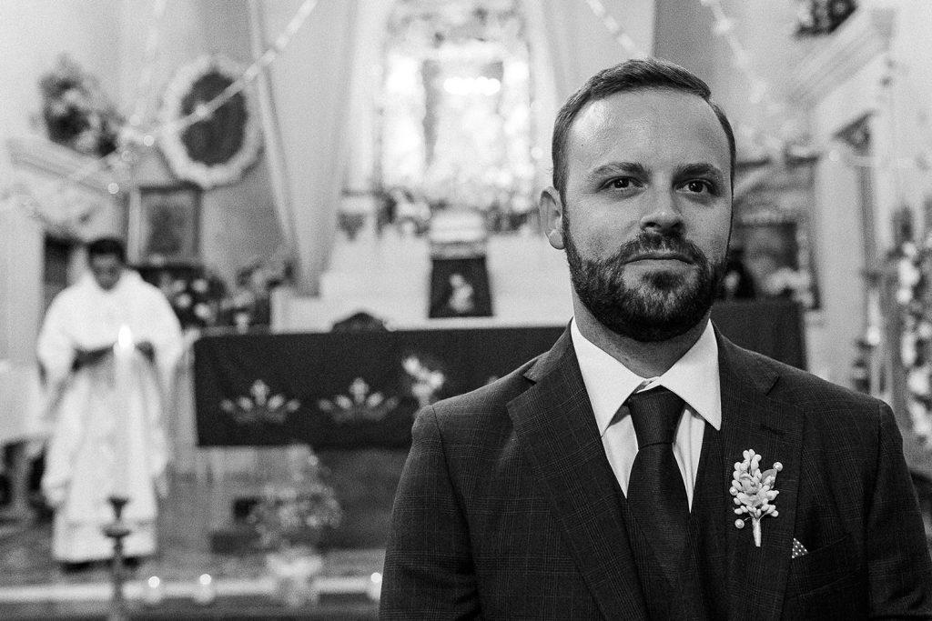Fotografo de bodas San Luis Potosi, hacienda vallumbroso novio esperando