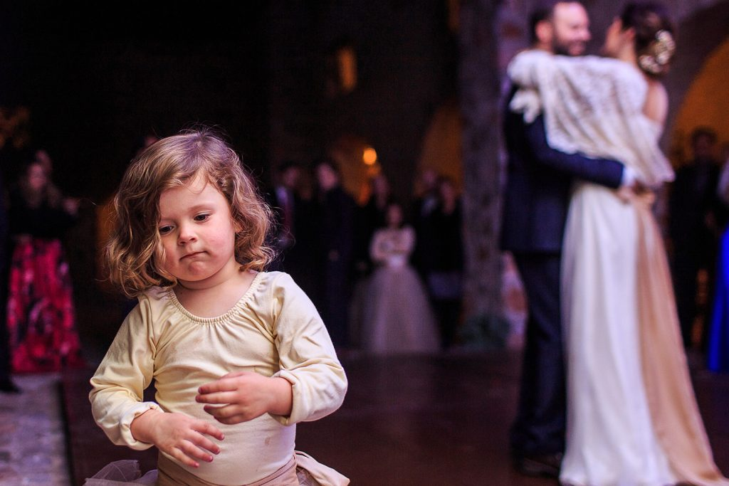 Fotografo de bodas San Luis Potosi, hacienda vallumbroso niña en el vals