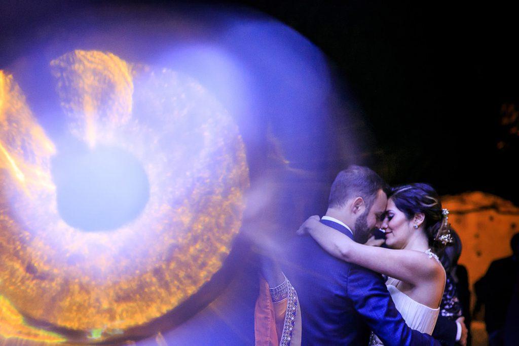 Fotografo de bodas San Luis Potosi, hacienda vallumbroso bokeh morado